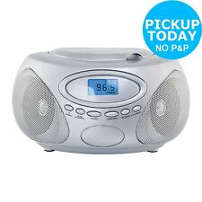 Bush CD Radio Boombox - Silver