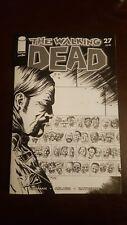 Walking Dead # 27 Declan Shalvey B&W Variant Blind Bag NM In Hand NM 15% Ratio