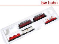 Roco H0 Wagen-Set Personenwagen und Güterwagen aus Startset 41212, 5-teilig