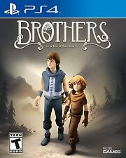 Brothers - PlayStation 4, Brand New Ps4 Games Sony Factory Sealed
