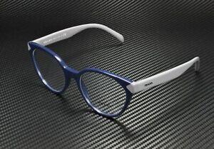 PRADA PR 01TV TFM1O1 Blue Demo Lens 53 mm Women's Eyeglasses
