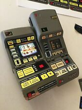 StAr TrEk PrOp TNG TRICORDER card stick on model Excellent 3 SET!