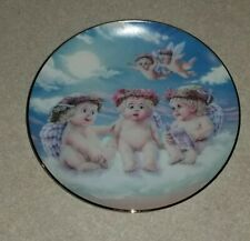 Dreamscicles The Flying Lesson by Kristin Angels Hamilton Collection Plate 1994