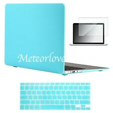 """Vasileios 3in1 Matte Frosted Satins-touch Hard Shell Case Cover Keyboard 15.4"""""""