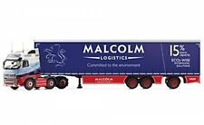 Corgi CC14032 VOLVO FH (face Lift) Super Curtainside Trailer W H Malcolm Ltd