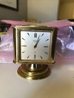 Angelus Swiss Vintage Table Clock Thermometer Barometer Hygrometer