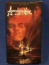 Apocalypse Now Vhs Francis Ford Coppola, Marlon Brando, Robert Duvall