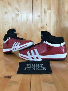 ADIDAS TEAM SIGNATURE 15 TS CREATOR Men 11 High Top Basketball Shoes Red 375856