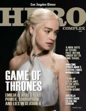 Game of Thrones Hero Complex 2014 LA Times magazine Emilia Clarke Daenerys cover