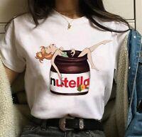 Nutella Kawaii Impression T-shirt Femmes PETITE FEE 2020