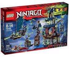 LEGO City of Stiix Ninjago Set 70732 Masters of Spinjitzu NIB Sealed Retired Set