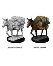 D&D Deep Cuts Pathfinder Unpainted Minis: Pack Mule
