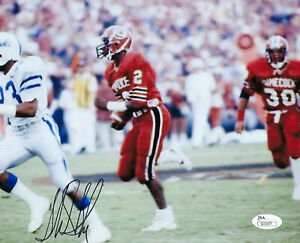 SOUTH CAROLINA Sterling Sharpe signed 8x10 photo JSA COA AUTO Autograph Packers
