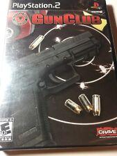 Playstation 2 - PS2 - Gun Club - Brand New & Sealed