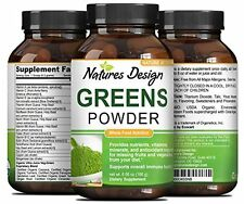 Superfood Greens Powder for Better Health - Nutritious Vegetables & Fruits