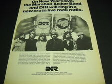 MARSHALL TUCKER BAND a new era in live rock radio ORIGINAL 1978 Promo Poster Ad