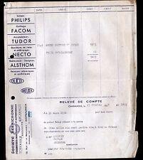 """CHATEAUROUX (36) FOURNITURES AUTOMOBILES """"SOCIETE BERRICHONNE"""" en 1956"""