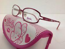 Barbie Occhiale Da Vista Modello 69 Rosa Ovale Metallo Il FrontaleÈ Lungo 11,8cm