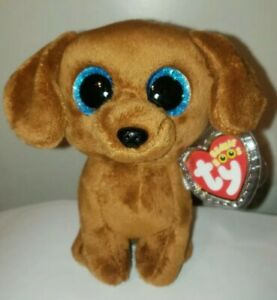 Ty Beanie Boos - DOUGIE the Dachshund Dog (6 Inch) NEW - MINT with MINT TAGS