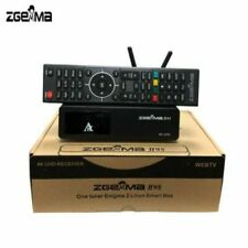 New Zgemma Star H9S Wifi 4K IPTV UHD Single Sat Receiver - DVB-S2X Stalker