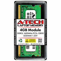 HP 691740-001 A-Tech Equivalent 4GB DDR3L 1600Mhz 12800 SODIMM Laptop Memory RAM