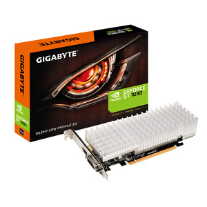 Gigabyte GT 1030 2GB DDR5 GV-N1030SL-2GL PCI-E Video Card Silent Low Profile DVI