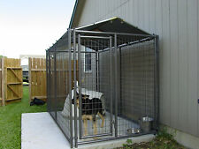 Kennel Cover Custom size from 4'wide to 10'long-no kenn