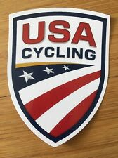 US CYCLING - Bicycle Sticker Decal - badge style