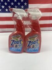 LOT OF 2 Zout Laundry Stain Remover Spray  Triple Enzyme Formula  22 Ounce Each