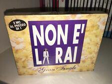NON E' LA RAI GRAN FINALE RARO BOX 2 MUSICASSETTE AMBRA ANGIOLINI SIGILLATO