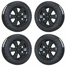 "20"" FORD F150 FX4 TRUCK BLACK WHEELS RIMS TIRES FACTORY OEM SET 4 3833"