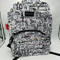 Friends Central Perk Comic Printed 90s TV Show School Backpack Book Bag