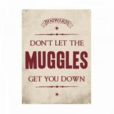 Harry Potter Don't Let The Muggles Get You Down Small Tin Sign