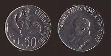 VATICANO 50 LIRE 1991 - GIOVANNI PAOLO II - FDC/UNC FIOR DI CONIO