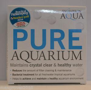 Evolution Aqua Pure Aquarium 50 Balls Crystal Clear Water Bacteria Filter