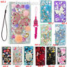 For Apple iPhone XS Max XR X bling case Leather flip slots stand wallet cover