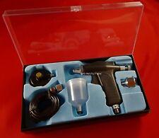 AEROGRAFO SPRAY PISTOLA VERNICE HS-105 TRATTO FINE 0.3MM SERBATOIO 22CC CAVO