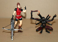 Resident evil Claire Redfield & Chimera Action Figure Figur Toy biz ToyBiz