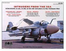 AOA Decals 1/48 INTRUDERS FROM THE SEA Grumman A-6A A-6B & KA-6D in Vietnam