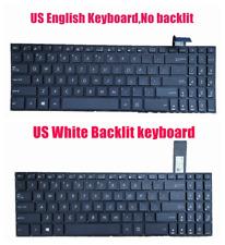 US White Backlit or Non Backlit keyboard for Asus X570U/X570UD/X570Z/X570ZD