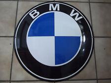 """DEKORATIVES GROßES EMAILLE-SCHILD """"BMW"""" #7753"""