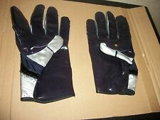 NOTRE DAME GAME USED ADIDAS FOOTBALL GLOVES - BLACK - XXL
