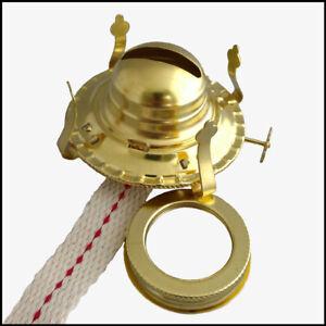 Oil Lamp Mate 50 Feet Roll 1//4 Round Cotton Kerosene Oil Lamp Wicks Burner