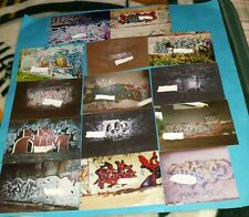 14 WEST COAST CALI OLD SCHOOL 1998 - 2003 GRAFFITI PIX PICTURES IN GREAT SHAPE!!