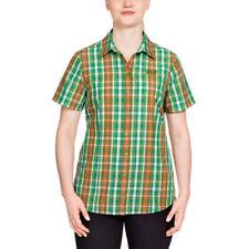 Cotton Short Sleeve Button Down Shirts for Women
