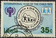 Stamp Liberia 1979 35c International Year of the Child Used