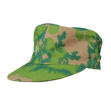WWII GERMAN PALM TREE CAMO SPRING AND FALL REVERSIBLE FIELD CAP SIZE M-34354