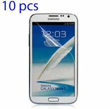 10x Film Guard Clear Screen Protector Samsung Galaxy Note 2 Ii New