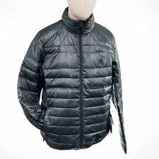 NEW Spyder 069-POL/BLACK Men's Prymo Down Jacket in Dark Gray / Black - Large