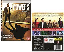 POWERS 1 (2015) by Marvel / Icon Comics Superhero TV Season Series UK DVD not US